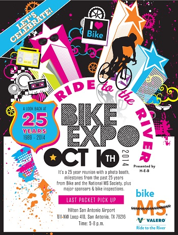 Bike MS Valero Ride to the River 2014: Expo